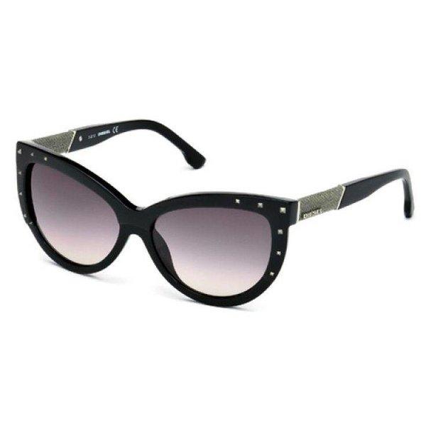 DL0051 03A Zwart Zonnebril