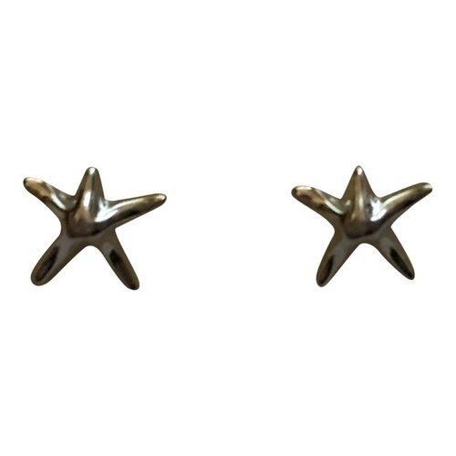 Zeester oorbellen 925 sterling silver