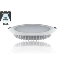 Led Downlighter 12w, 1180 Lumen, 4000K Neutraal wit, Ø200 mm gatmaat, 5 Jaar Garantie