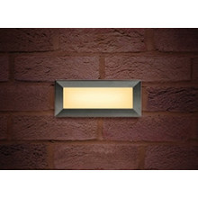 Led Buitenlamp Brick, 3,8w, 180 Lumen, 3000K Warm Wit, IP65, 3 Jaar Garantie