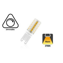 G9 3w Led Lamp, 2700K Warm Wit, Dimbaar, 2 Jaar Garantie