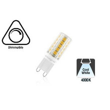 G9 3w Led Lamp, 4000K Neutraal Wit, Dimbaar, 2 Jaar Garantie