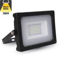 LED Floodlight 30w, 3000K Warm Wit, 3300 Lumen (110lm/w), IP65, 2 Jaar garantie