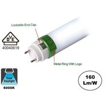 Led Tube 120cm, 20w, 3360 Lumen (160lm/w), 6000K Koud wit, 5 Jaar garantie