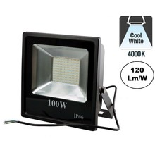 PRO LED Floodlight 100w, 12000 Lumen, 4000K, Neutraal Wit, IP65, 3 Jaar garantie