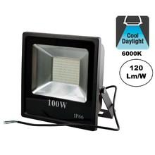 PRO LED Floodlight 100w, 12000 Lumen, 6000K, Daglicht Wit, IP65, 3 Jaar garantie