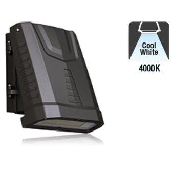 LED Wallpack Capra 80w, 9840 Lumen, 4000K Neutraal Wit, IP65, IK08, 3 Jaar Garantie