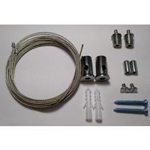 Ophangset voor Railsysteem (set van 2 kabels)