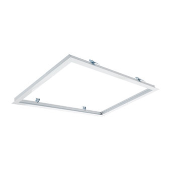 Inbouwframe voor 30x60cm Led Panelen, Wit