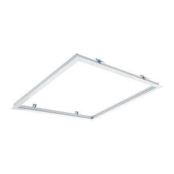 Inbouwframe voor 60x60cm Led Panelen, Wit