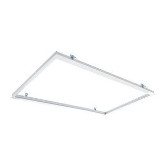 Inbouwframe voor 60x120cm Led Panelen, Wit