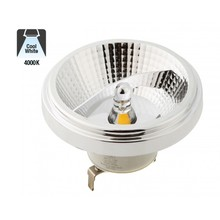 G53 AR111 LED Spot 12w, 730 Lumen, 4000K Neutraal Wit, 45°, 12v, 3 Jaar Garantie
