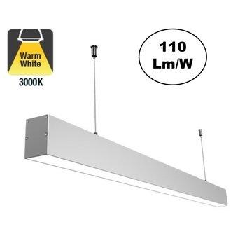 Led Linear Lamp 120cm, 36w, 3960 Lumen (110lm/w), 3000K Warm wit, 3 Jaar Garantie