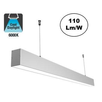 Led Linear Lamp 120cm, 36w, 3960 Lumen (110lm/w), 6000K Daglicht wit, 3 Jaar Garantie