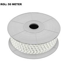 LED Lichtslang 4000K Neutraal Wit, Rol: 50 Meter, 10w/m, 60 leds/m, 840lm/m, IP65, 230V, 2 Jaar Garantie
