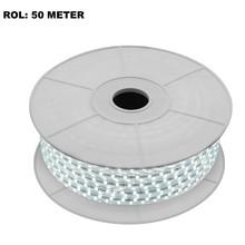 LED Lichtslang 6000K Koel Wit, Rol: 50 Meter, 10w/m, 60 leds/m, 840lm/m, IP65, 230V, 2 Jaar Garantie