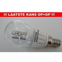 OP=OP E14 3,5w rond model glas