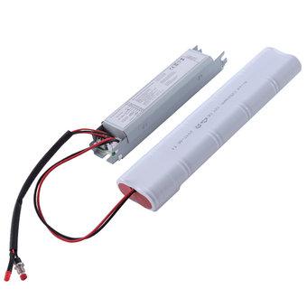 Led Noodunit voor 230v LED armaturen en LED Lampen max. 25w, Brandtijd 3 uur