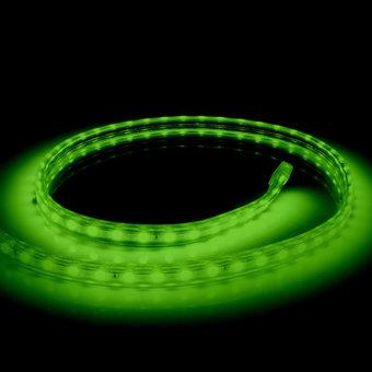 LED Lichtslang Op Maat Per Meter: Groen, 10w/m, 60 leds/m, 840lm/m, IP65, 230V