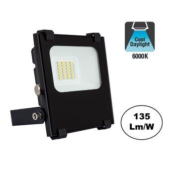 PRO LED Floodlight 10w, 1350 Lumen, 6000K daglicht Wit, IP65, 3 Jaar garantie