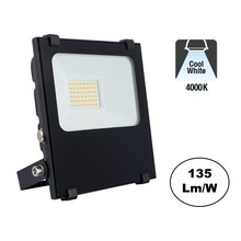 PRO LED Floodlight 20w, 2700 Lumen, 4000K Neutraal Wit, IP65, 2 Jaar garantie