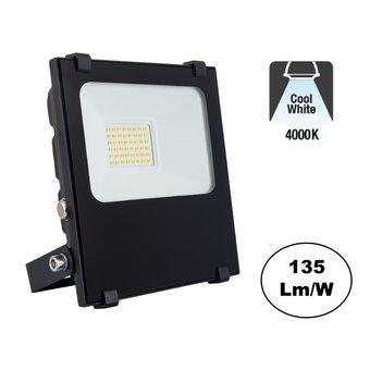 PRO LED Floodlight 20w, 2700 Lumen, 4000K Neutraal Wit, IP65, 3 Jaar garantie