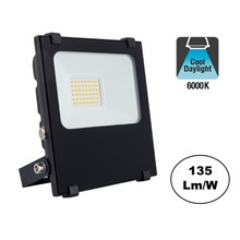 PRO LED Floodlight 20w, 2700 Lumen, 6000K Daglicht Wit, IP65, 2 Jaar garantie