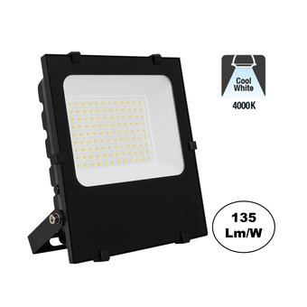 PRO LED Floodlight 50w, 6750 Lumen, 4000K Neutraal Wit, IP65, 3 Jaar garantie