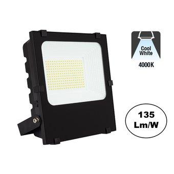 PRO LED Floodlight 100w, 13500 Lumen, 4000K Neutraal Wit, IP65, 3 Jaar garantie