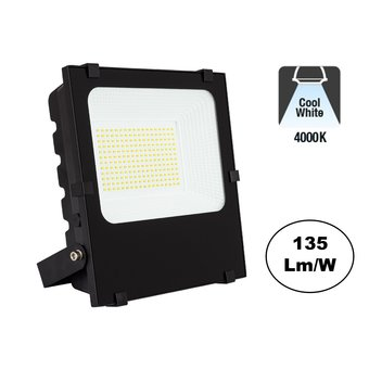 PRO LED Floodlight 100w, 13500 Lumen, 6000K Daglicht Wit, IP65, 2 Jaar garantie