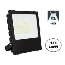 PRO LED Floodlight 150w, 20250 Lumen, 4000K Neutraal Wit, IP65, 2 Jaar garantie