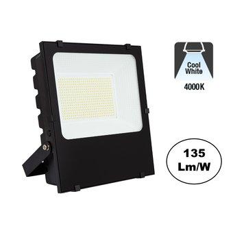 PRO LED Floodlight 200w, 27000 Lumen, 4000K Neutraal Wit, IP65, 3 Jaar garantie