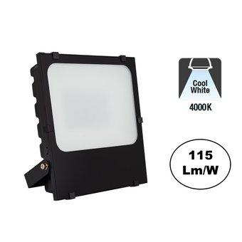 PRO LED Floodlight Frosted 50w, 5750 Lumen, 4000K Neutraal Wit, IP65, 3 Jaar garantie