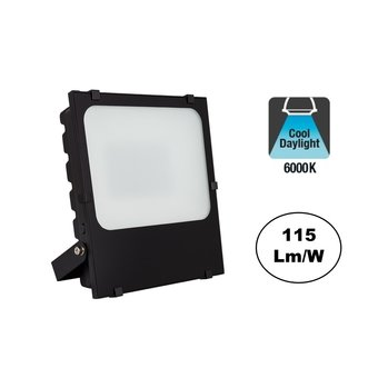 PRO LED Floodlight Frosted 50w, 5750 Lumen, 6000K Daglicht Wit, IP65, 3 Jaar garantie