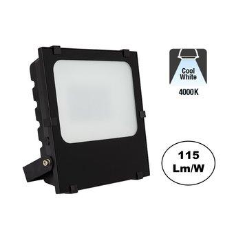 PRO LED Floodlight Frosted 100w, 11500 Lumen, 4000K Neutraal Wit, IP65, 3 Jaar garantie