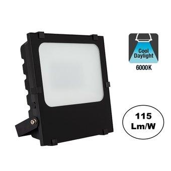 PRO LED Floodlight Frosted 100w, 11500 Lumen, 6000K Daglicht Wit, IP65, 3 Jaar garantie