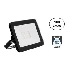 LED Floodlight Slim 10w, 4000K Neutraal, 1000 Lumen (100lm/w), IP65, 2 Jaar garantie
