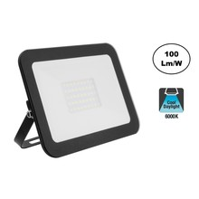 LED Floodlight Slim 30w, 6000K Daglicht Wit, 3000 Lumen (100lm/w), IP65, 2 Jaar garantie