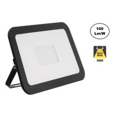LED Floodlight Slim 50w, 3000K Warm Wit, 5000 Lumen (100lm/w), IP65, 2 Jaar garantie
