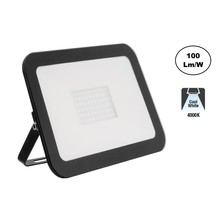 LED Floodlight Slim 50w, 4000K Neutraal Wit, 5000 Lumen (100lm/w), IP65, 2 Jaar garantie