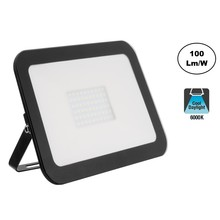 LED Floodlight Slim 50w, 6000K Daglicht Wit, 5000 Lumen (100lm/w), IP65, 2 Jaar garantie