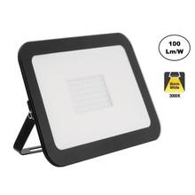 LED Floodlight Slim 100w, 3000K Warm Wit, 10000 Lumen (100lm/w), IP65, 2 Jaar garantie