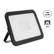LED Floodlight Slim 100w, 4000K Neutraal Wit, 10000 Lumen (100lm/w), IP65, 2 Jaar garantie