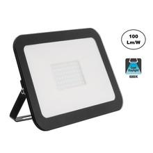 LED Floodlight Slim 100w, 6000K Daglicht Wit, 10000 Lumen (100lm/w), IP65, 2 Jaar garantie