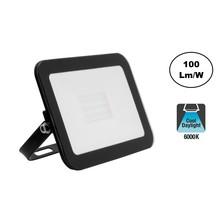 LED Floodlight Slim 20w, 6000K Daglicht Wit, 2000 Lumen (100lm/w), IP65, 2 Jaar garantie