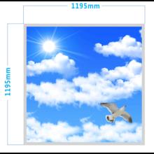 Fotoprint LED Paneel 120x120cm, 60w, 5000 Lumen, Flikkervrij, Inbouw/Opbouw, 3 Jaar Garantie