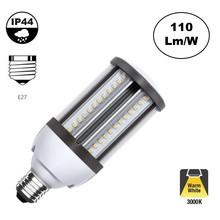 E27 Corn Lamp 18w, 1980 Lumen, 3000K Warm Wit,  360º, IP44, 2 Jaar Garantie