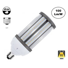 E27 Corn Lamp 40w, 4000 Lumen, 3000K Warm Wit,  360º, IP44, 2 Jaar Garantie