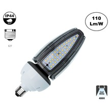 E27 Corn Lamp Recht 40w, 4400 Lumen, 4000K Neutraal Wit,  360º, IP44, 2 Jaar Garantie