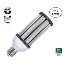 E40 Corn Lamp 54w, 5940 Lumen, 6000K Daglicht Wit,  360º, IP44, 2 Jaar Garantie